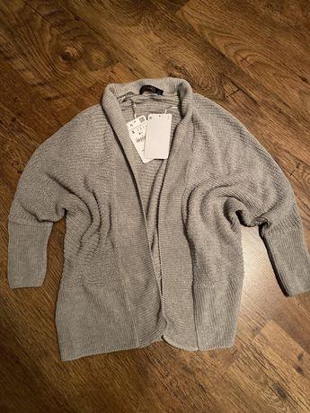 ZARA sweter kardigan roz 38/M NOWY h&m reserved c&a
