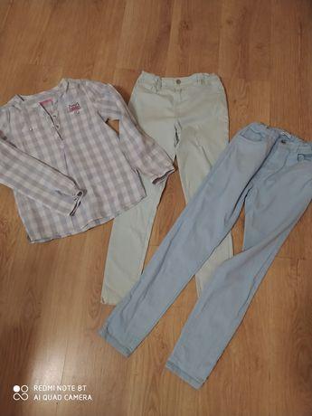 Spodnie, bluzka.