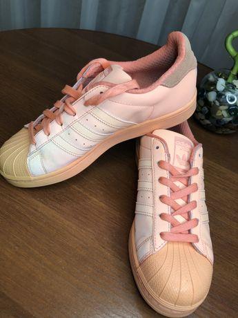Рефлективные кросы adidas superstar