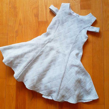 Детское платье, пышное, 116-122 , юбка снизу фатин