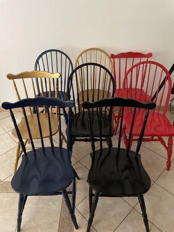 Krzesła PRL ,odnowione ,bardzo dobry stan