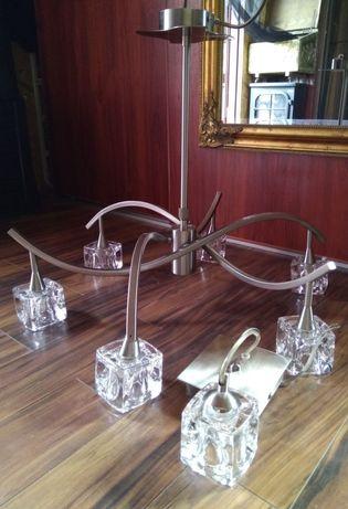 Żyrandol glamour kryształowy kolekcjonerski