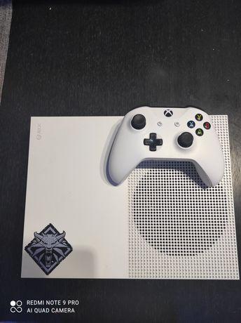 Xbox one S, 3 Gry, Pad