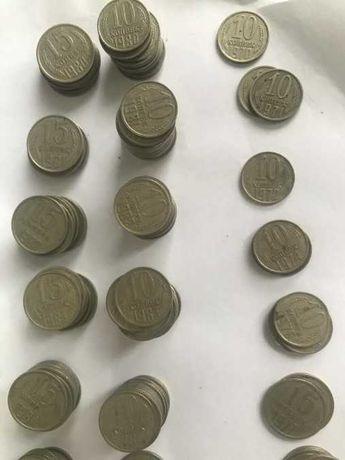 Советские монеты 10 и 15 копеек 1961-1991 года