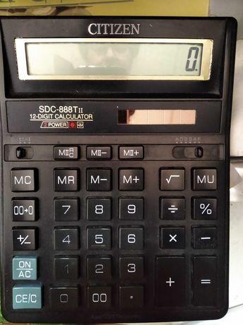 Калькулятор Сitizen SDC-888Т рабочий