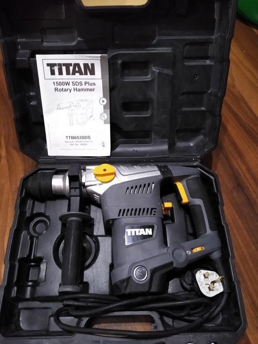 Перфоратор Titan TTB 653 SDS Сумы - изображение 1