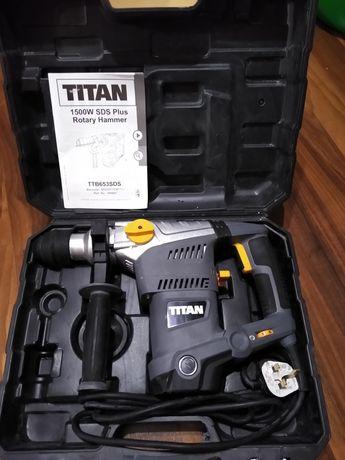 Перфоратор Titan TTB 653 SDS