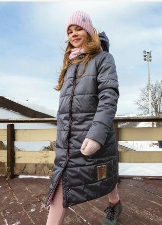 Зимнее пальто куртка Nikastyle