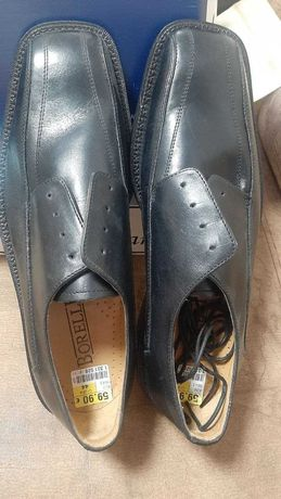 Продам новые  итальянские кожаные туфли Borelli размер 44