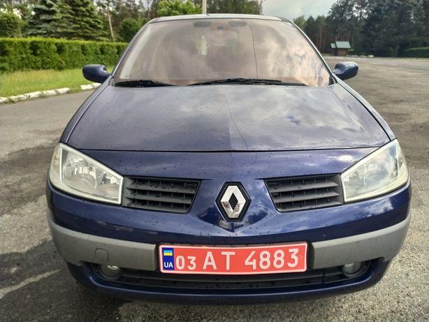 Renault Megane 1.6 бензин