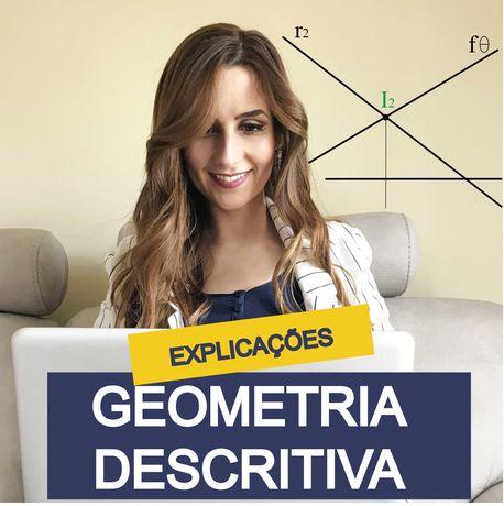 Explicações de Geometria Descritiva Online Secundário e M23