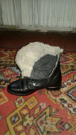 Женские кожание ботиночки