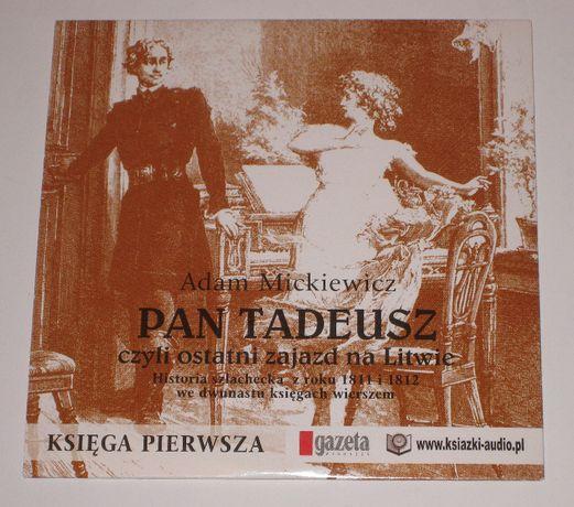 Adam Mickiewicz, Pan Tadeusz Księga Pierwsza - czyta Krzysztof Globisz