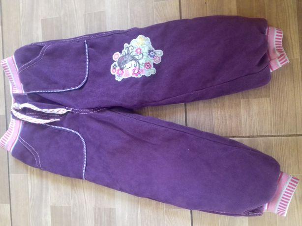 Зимові штани на дівчинку на 4-6 років