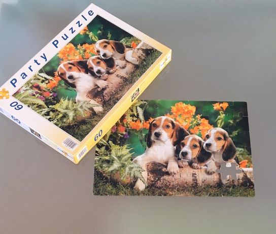 Puzzle de 60 peças