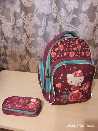 Рюкзак школьный KITE HELO KITTY + пенал в подарок