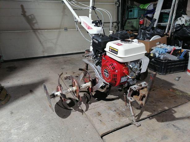 Glebogryzarka traktorek jednoosiowy plug frezy radła 3 paski napedowe