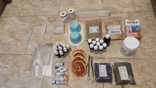 komponenty do robienia mydła