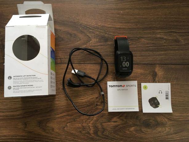 Smartwatch sportowy TOMTOM 4 REM GPS CARDIO + słuchawki