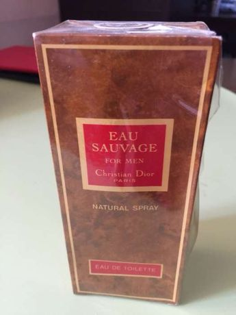 CD Christian Dior Eau Sauvage for men