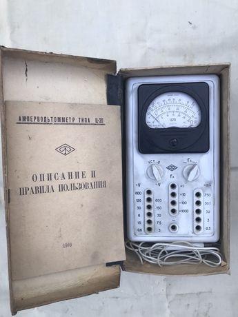 Ампервольтметр Ц20