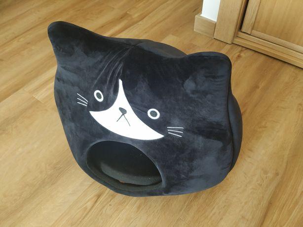 Casa de gato loja gato preto