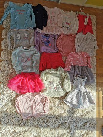 Bluzka, spódnica, sukienka bluza rozmiar 86