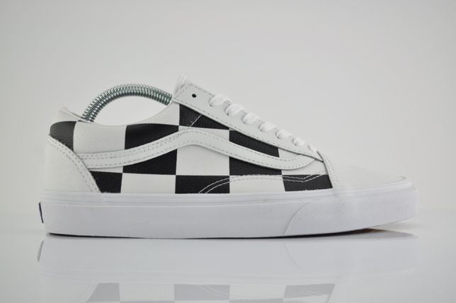 "Vans UA Old Skool Checkerboard ""True White&Black"" 40,5 czarne PURRFECT"