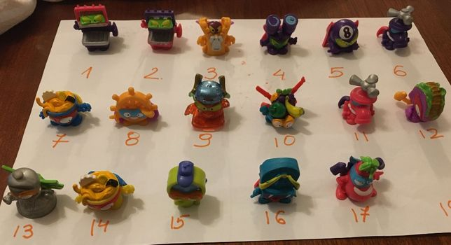 Super Zings figurki