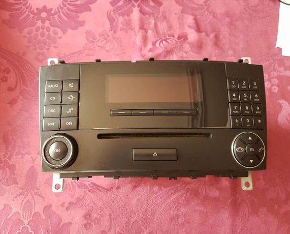 Rádio original Mercedes Sportcoupe w203 w209 cl203 facelift