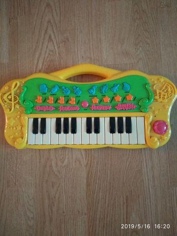 Organy organki keyboard