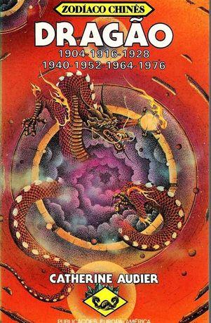 Livro 'Dragão - Zodíaco Chinês', de Catherine Aubier.