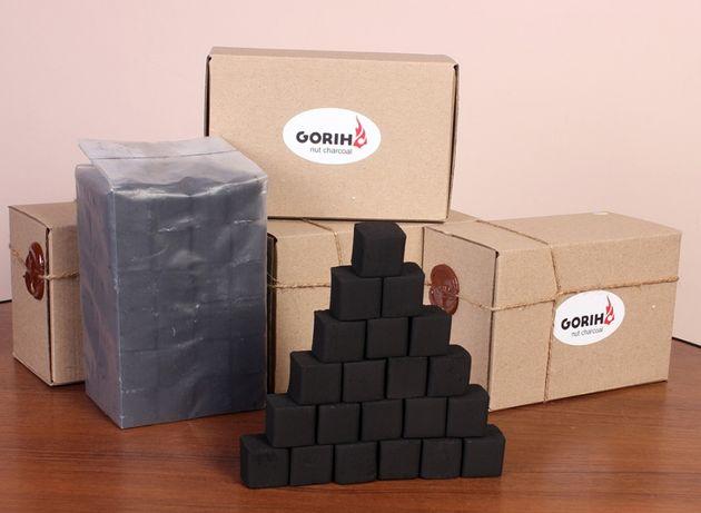 Кальянный уголь Gorih - 1 кг - 72 куба