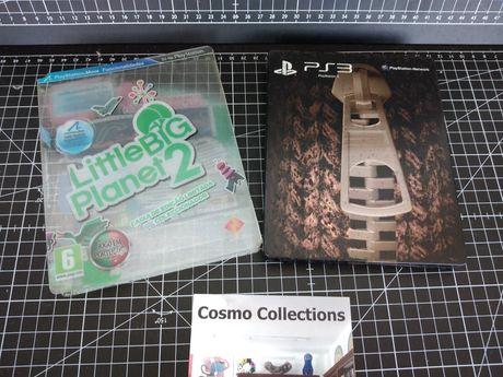 Jogo Little Big Planet 2 ps3 steelbox edição limitada de colecionador