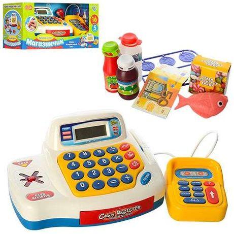 Игровой набор Кассовый аппарат Limo Toy 7020-UA на УКРАИНСКОМ ЯЗЫКЕ!