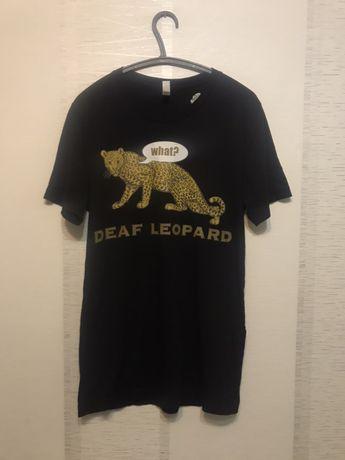 "Футболка мерч Def leppard ""what? Def leopard"