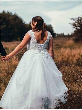 Przepiękna księżniczka - suknia ślubna