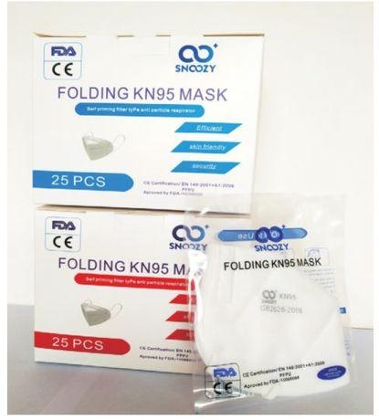 Maska ochronna PREMIUM KN95, FFP2, CE+FDA!!! Detal i Hurt!