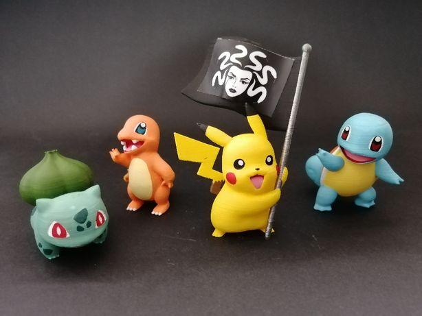 Pokémon - Miniaturas - Figuras - Impressão 3D