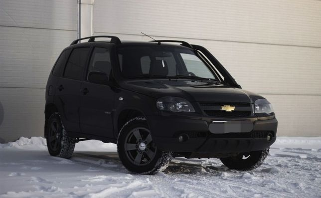 Chevrolet Niva 1.7МТ, 2017, 148000км