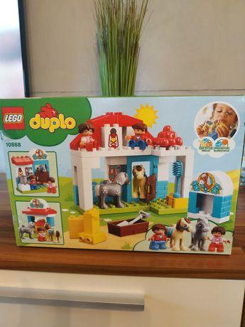 """LEGO Duplo """"stajnia z kucykami"""" 10868"""