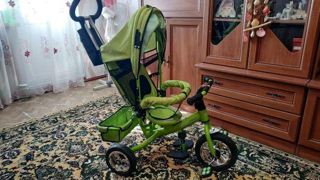 детский велосипед коляска толокар толкачка