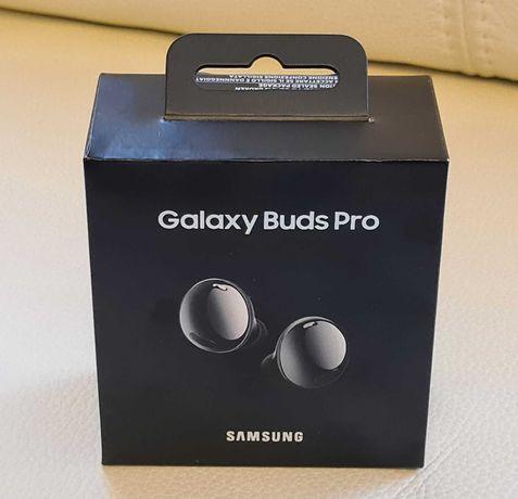 Samsung Galaxy Buds Pro, Phantom Black, NOWE, dystr. PL, gw24