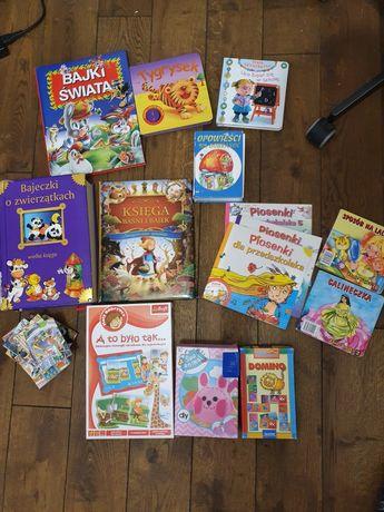 Książki, gry dla dzieci