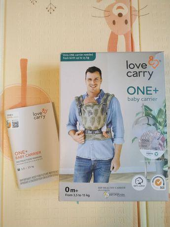 Love carry ерго-рюкзак ONE+ Cool Organic песок