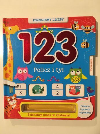 Książeczka Policz 1, 2, 3 Poznajemy liczby