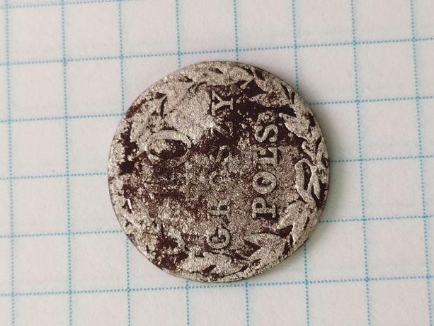 Монета 10 грош польские
