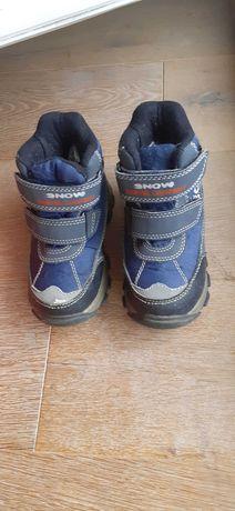 Buty r.24 zimowe śniegowce