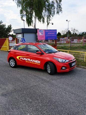 Jazdy doszkalające   Nowy Hyundai i20   Instruktor - Egzaminator  