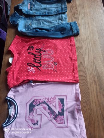 Katana i bluzeczki  Coccodrillo rozmiar 110